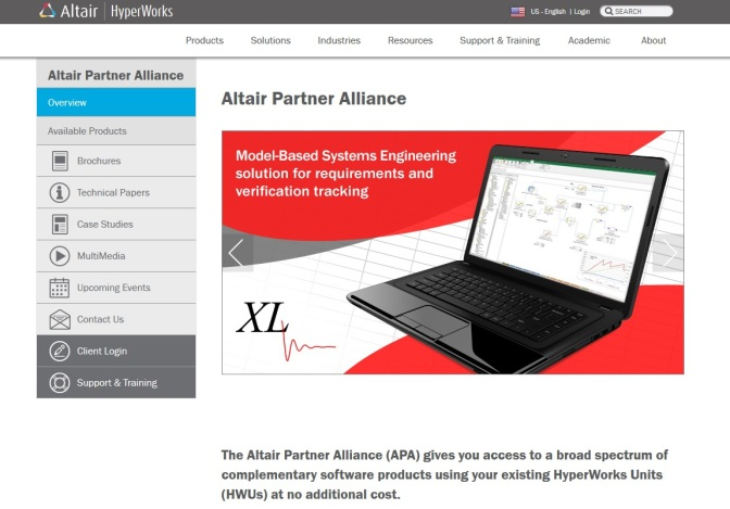 Simulation software added to Altair Partner Alliance