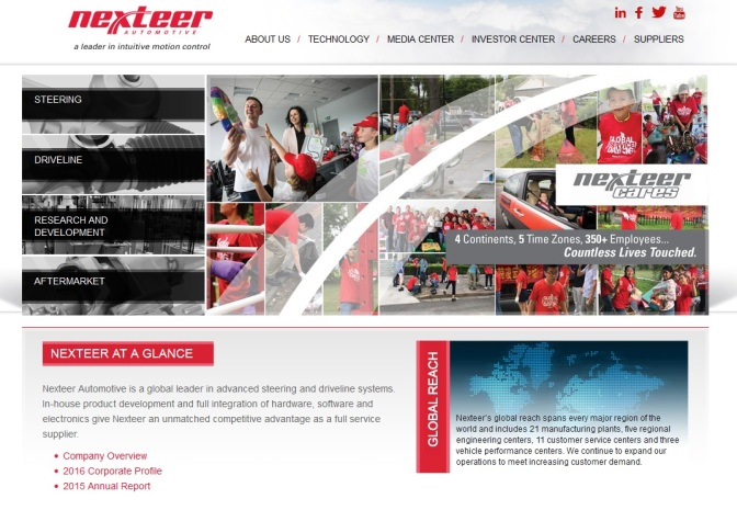 Nexteer Provides Advanced Cyber Security for Steering Systems