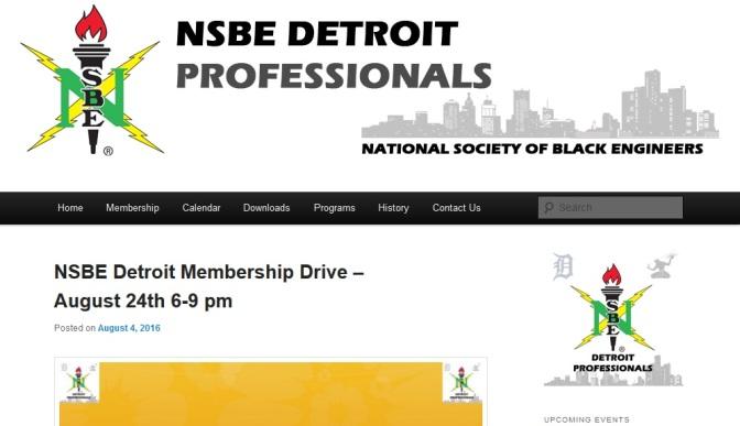 NSBE To Kick Off Program Year With Membership Drive
