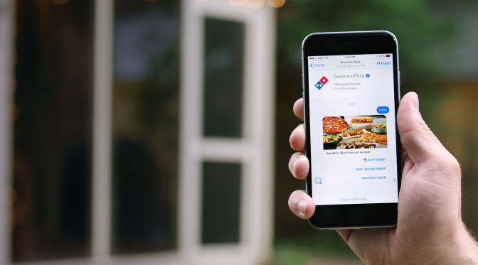 Domino's Adds Facebook Messenger Ordering