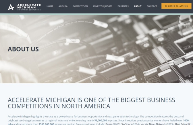 Accelerate Michigan New Business Competition Coming Nov. 3