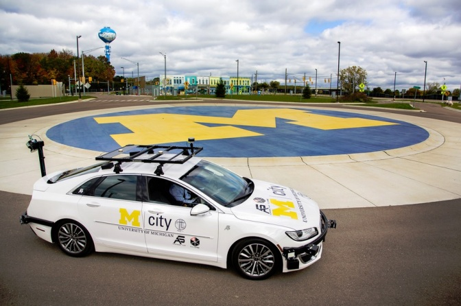 UM Offers Open-Access Automated Cars For Driverless Research