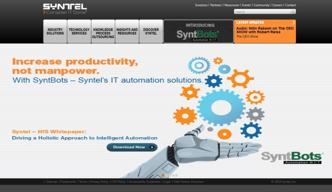 CEO Out After 30 Months At Syntel