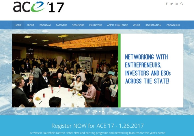 ACE '17 Coming Jan. 26