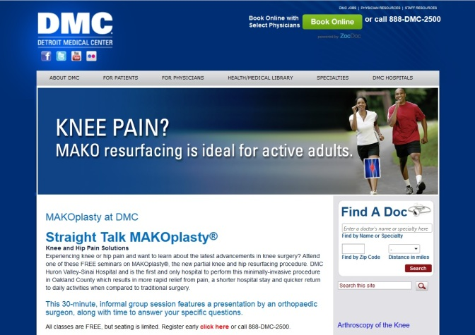 DMC Performs First Robot-Assisted Total Knee Procedures in Michigan