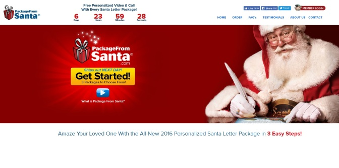 Firm Offers Free 'Phone Call From Santa'