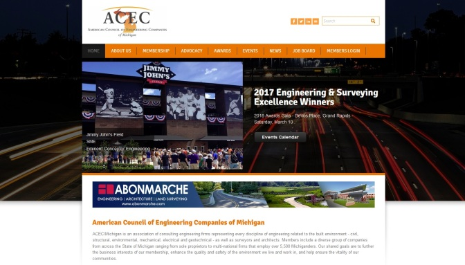 ACEC Recognizes Michigan's Top Engineering, Surveying Projects