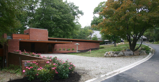 ESD Sponsoring Tour of Frank Lloyd Wright's Affleck House in Bloomfield Hills