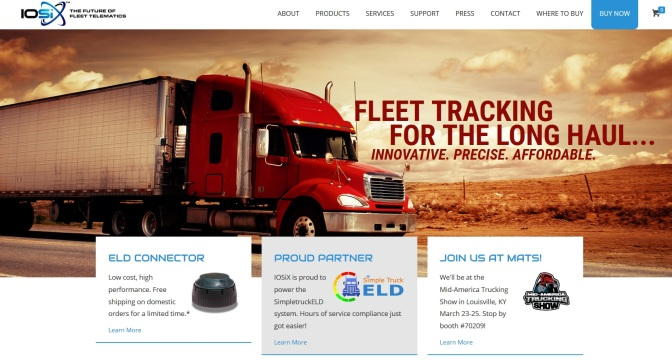 Ypsi Firm Unveils New Truck Tracking System