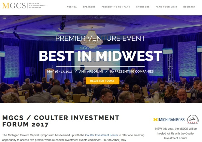 Speakers Announced For Michigan Growth Capital Symposium