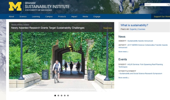 UM Graham Institute Research Grants Target Sustainability Challenges