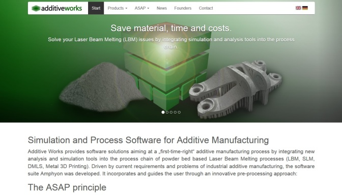 3-D Printing: Additive Works Joins the Altair Partner Alliance