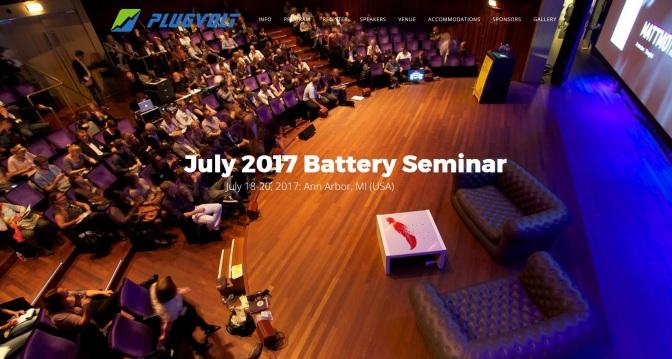 Battery Seminar Coming To Ann Arbor