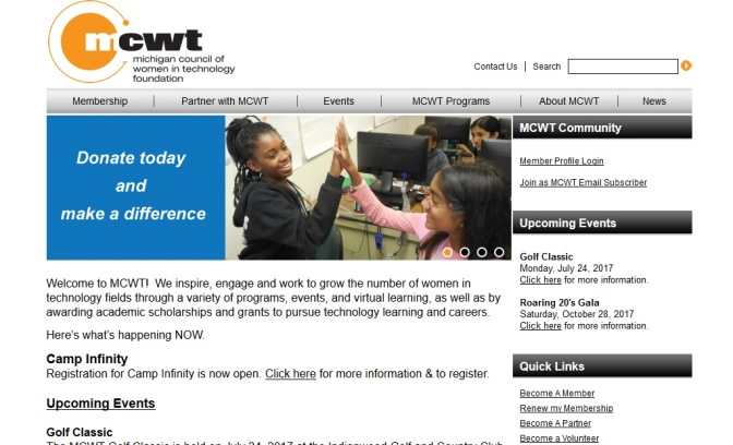 MCWT Seeks Nominations for Leading Women in IT