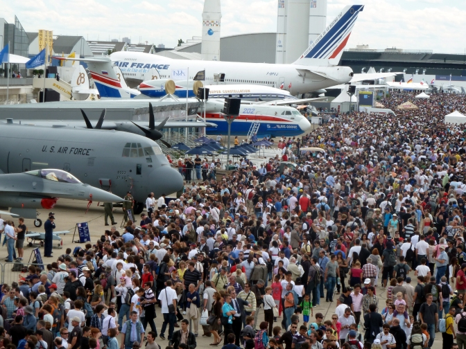 Exports The Aim Of Michigan Firms At Paris Air Show