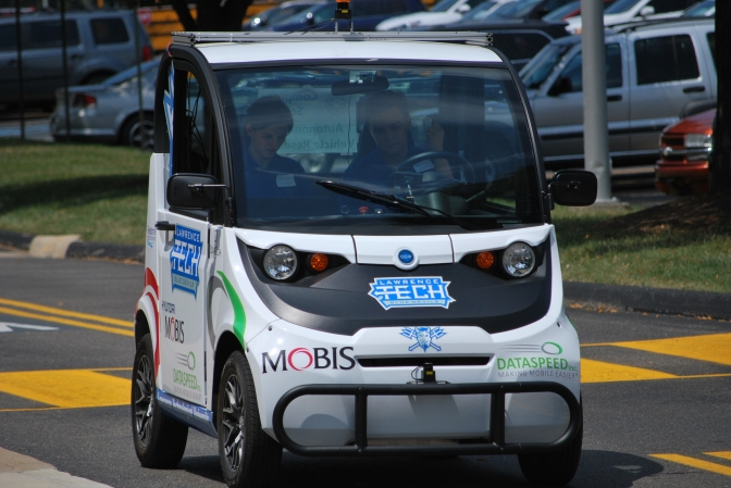 LTU researching autonomous taxi with gifts from MOBIS, Dataspeed, SoarTech, Realtime Technologies