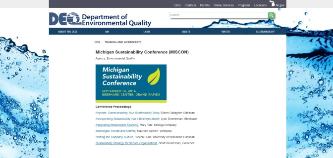 Sustainability Conference Coming Sept. 14